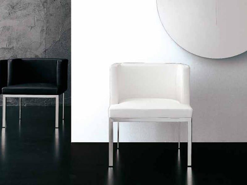 Dacron® armchair with armrests SIMPLE ARMCHAIR - ALIVAR