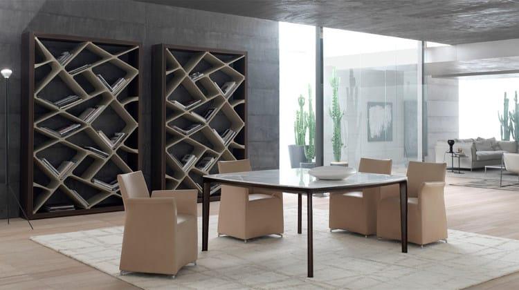 Tavolo da pranzo quadrato in legno board tavolo quadrato alivar - Tavolo da pranzo quadrato ...
