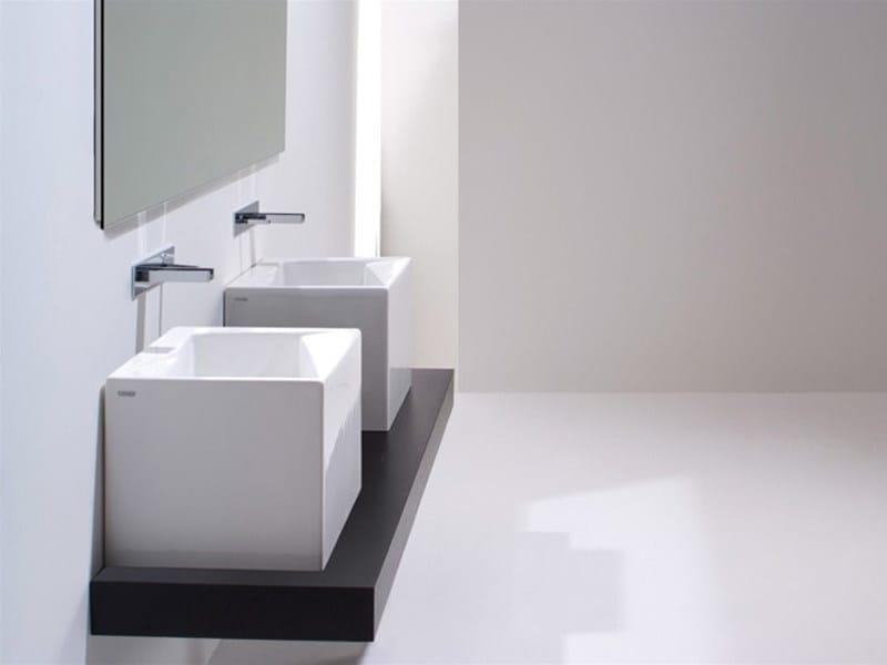 Countertop ceramic washbasin OZ 42 | Countertop washbasin - GSG Ceramic Design