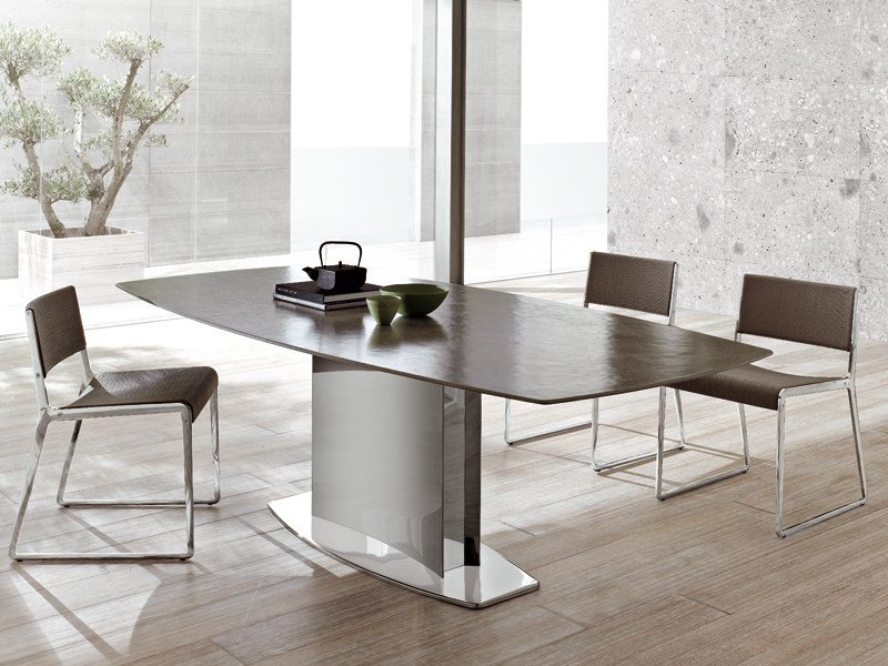 Stainless steel table STONE by ALIVAR