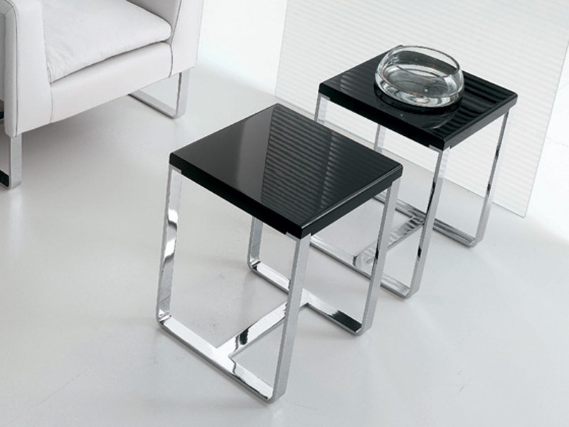 Steel coffee table CLUB | Coffee table - ALIVAR