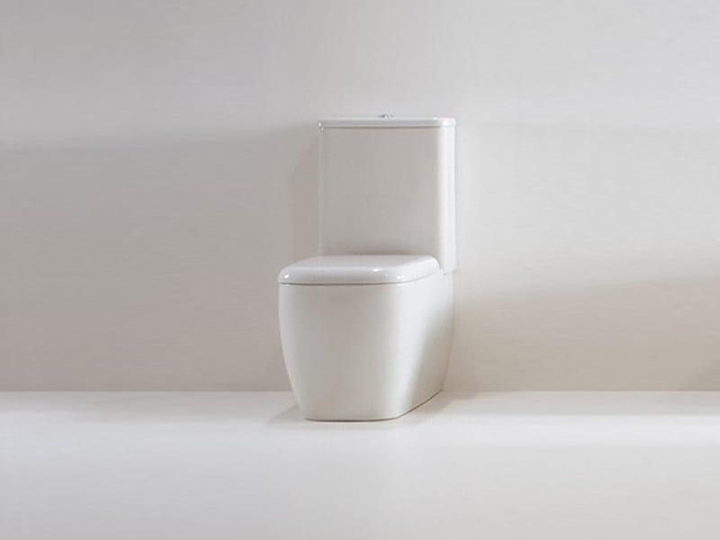 Close coupled ceramic toilet LILAC | Close coupled toilet by GSG Ceramic Design