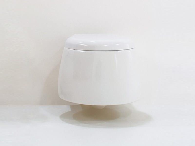 Wall-hung ceramic toilet DUNIA | Wall-hung toilet - GSG Ceramic Design