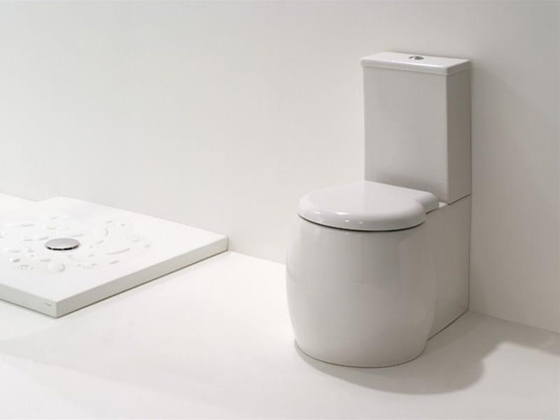 Close coupled ceramic toilet DUNIA | Close coupled toilet - GSG Ceramic Design