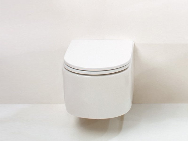 Wall-hung ceramic toilet RACE | Wall-hung toilet - GSG Ceramic Design