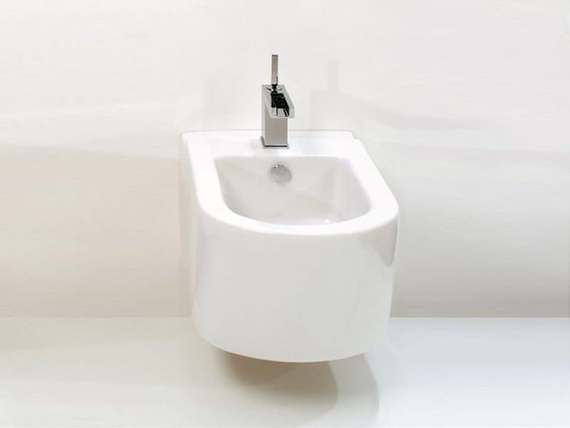 Wall-hung ceramic bidet RACE | Wall-hung bidet - GSG Ceramic Design
