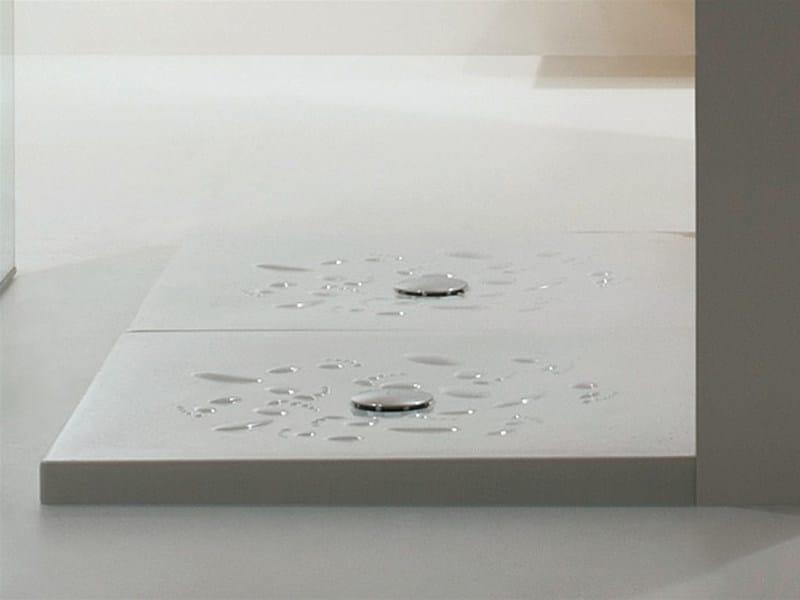Square ceramic shower tray ORME - GSG Ceramic Design