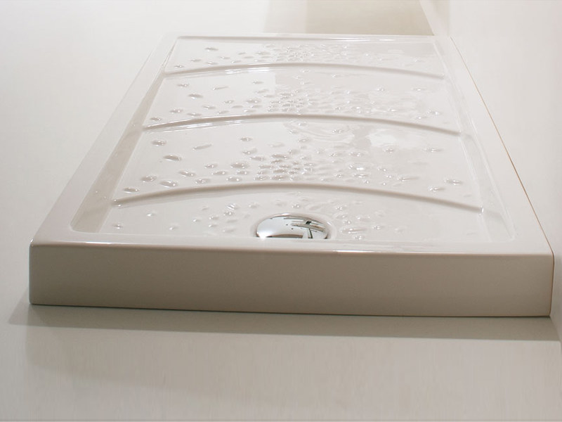 Rectangular ceramic shower tray ECOSCAPE | Shower tray - GSG Ceramic Design