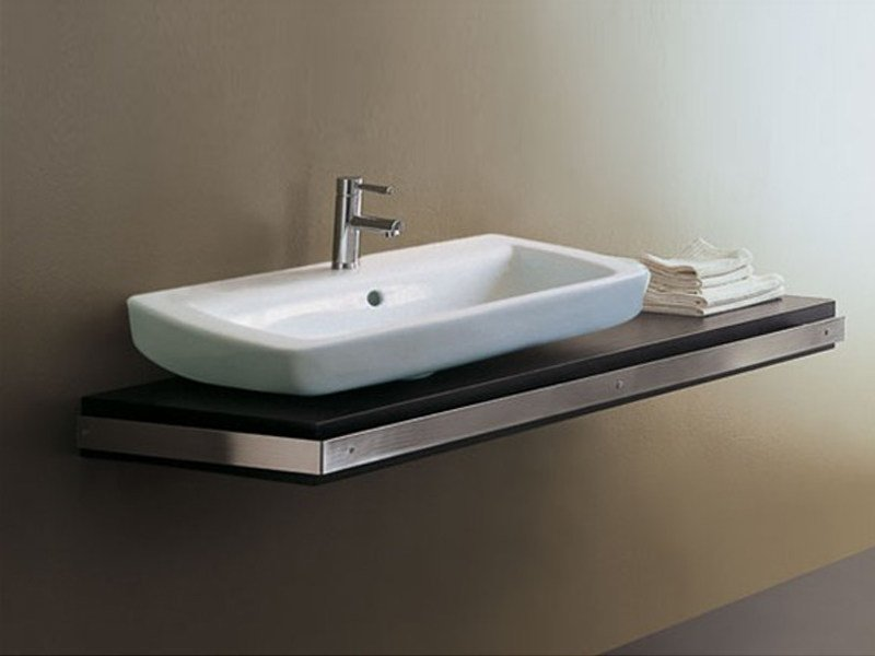Wooden washbasin countertop Washbasin countertop - GSG Ceramic Design