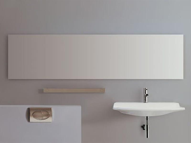 Specchio rettangolare a parete per bagno specchio per for Layout rettangolare per bagno