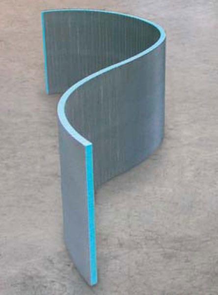 Pannello da costruzione sagomato construct   wedi italia