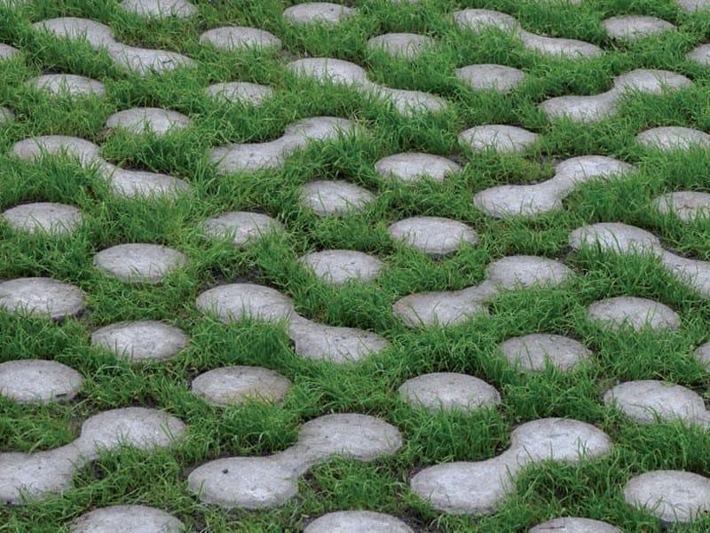 Pavimentazione drenante per esterni lunix ferrari bk - Pavimentazione giardino autobloccanti ...