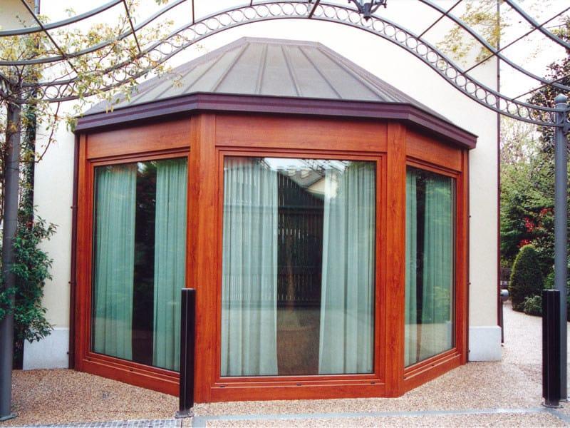 veranda in metallo veranda quartieri luigi. Black Bedroom Furniture Sets. Home Design Ideas