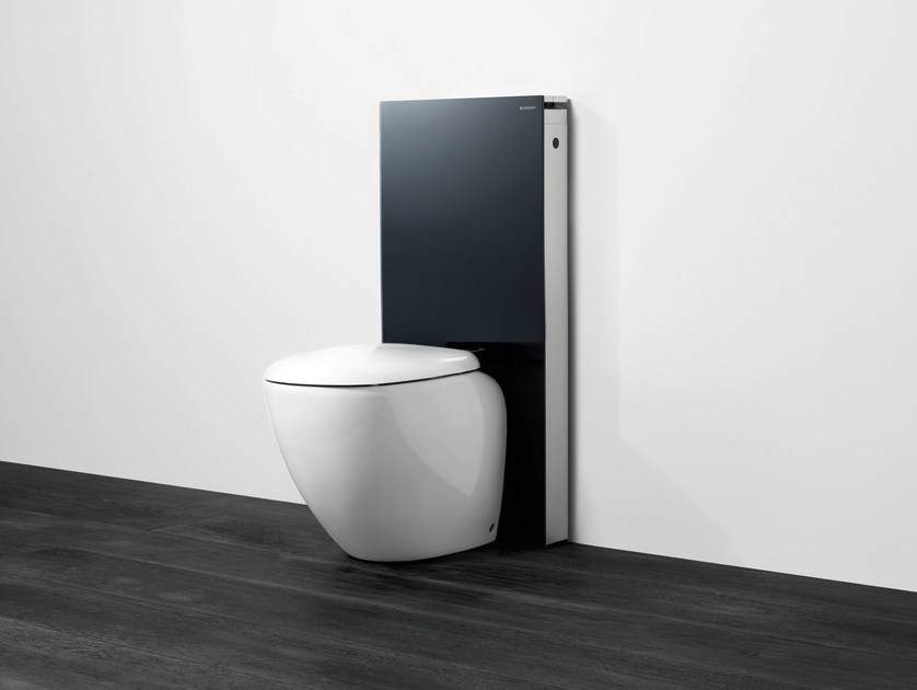 Tempered glass sanitary module for toilets Monolith - Geberit Italia