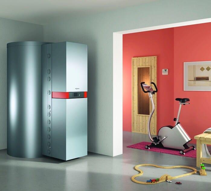 Condensation boiler VITOSOLAR 300-F - VIESSMANN
