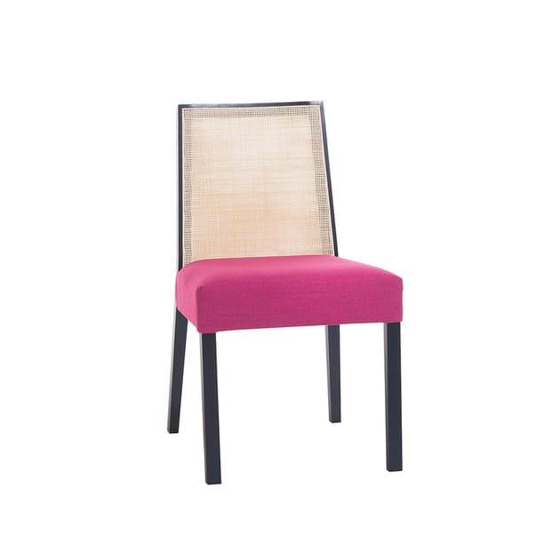 Sedia imbottita con schienale alto orly collezione design for Sedia design schienale alto