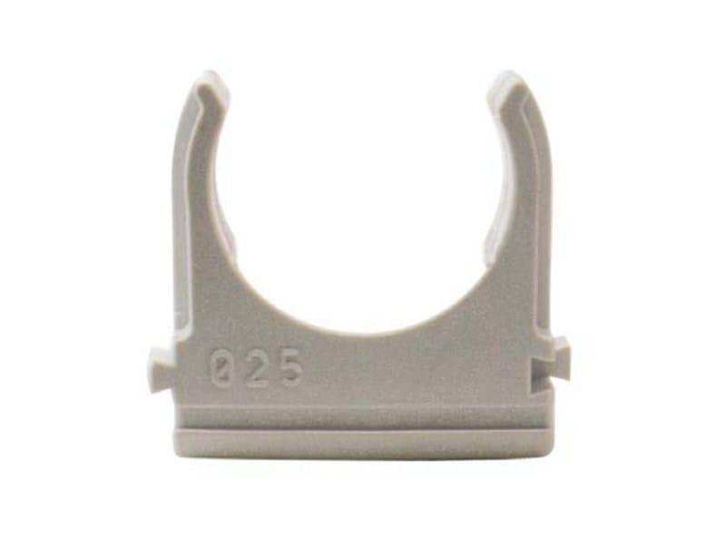 supporto per tubo in pvc fast clip linea fissaggi per