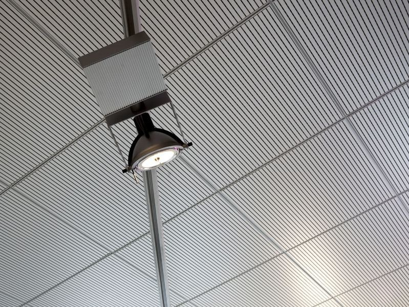 Acoustic MDF ceiling tiles 60x60/120 SYSTEM by FANTONI