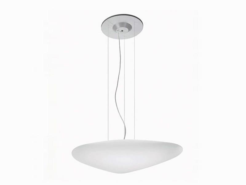 Polyethylene pendant lamp STONE   Pendant lamp - ALMA LIGHT