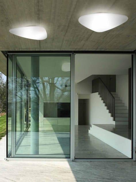 Lampada da soffitto a led stone out lampada da soffitto - Lamparas de techo empotradas ...