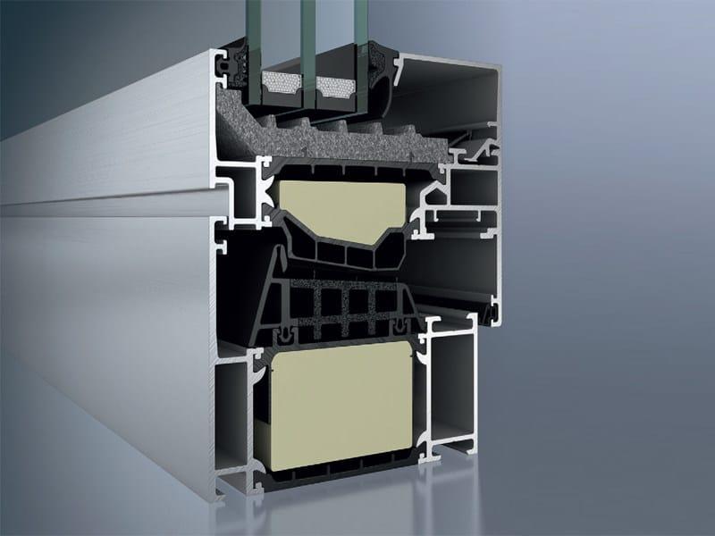 Aluminium thermal break window Schüco AWS 90.SI+ by Schüco