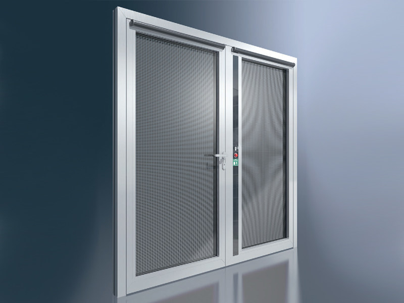 Energy-saving glass entry door Schüco ADS 90.SI by Schüco