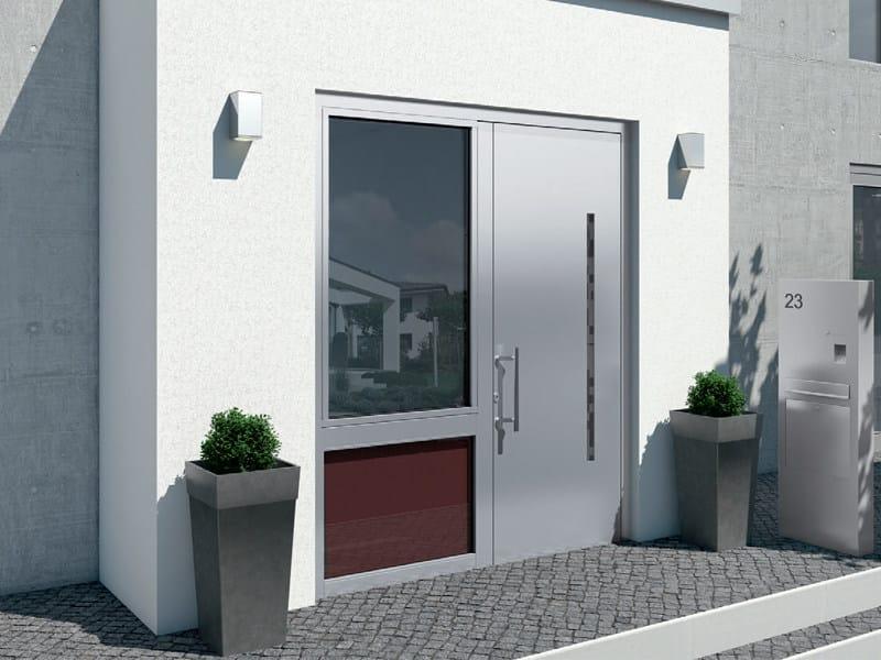 Energy-saving aluminium entry door Schüco ADS 112.IC - SCHÜCO INTERNATIONAL ITALIA