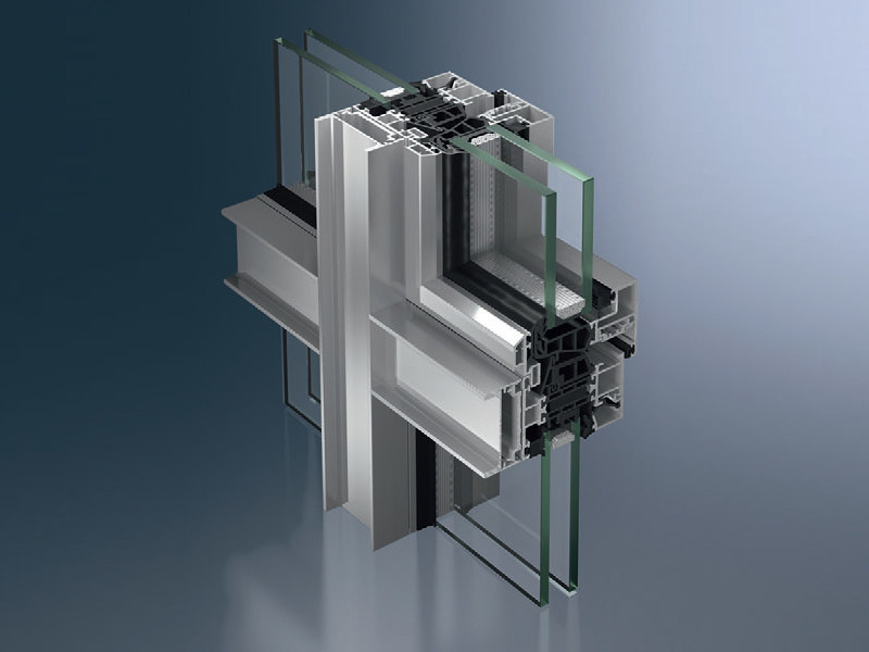 Aluminium thermal break window Schüco AWS 75 WF.SI - SCHÜCO INTERNATIONAL ITALIA