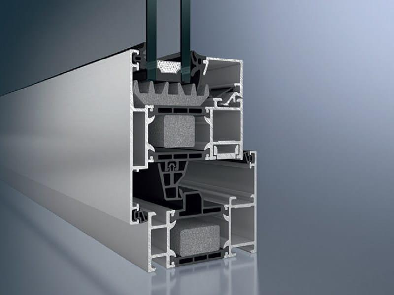 Aluminium thermal break window Schüco AWS 70.HI by Schüco