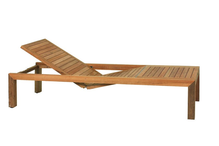 Recliner teak garden daybed IXIT | Garden daybed by ROYAL BOTANIA