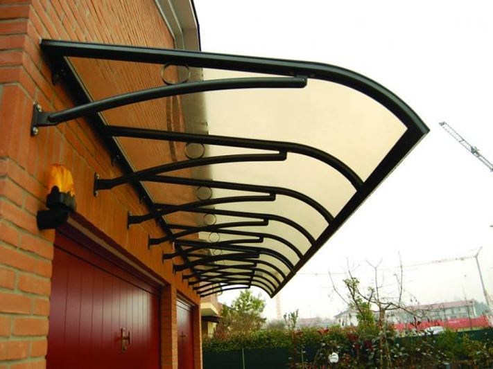 Aluminium door canopy DIONISIO by KE Outdoor Design
