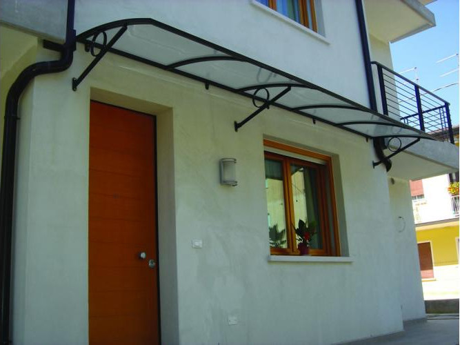 Aluminium door canopy ELENA - KE Outdoor Design