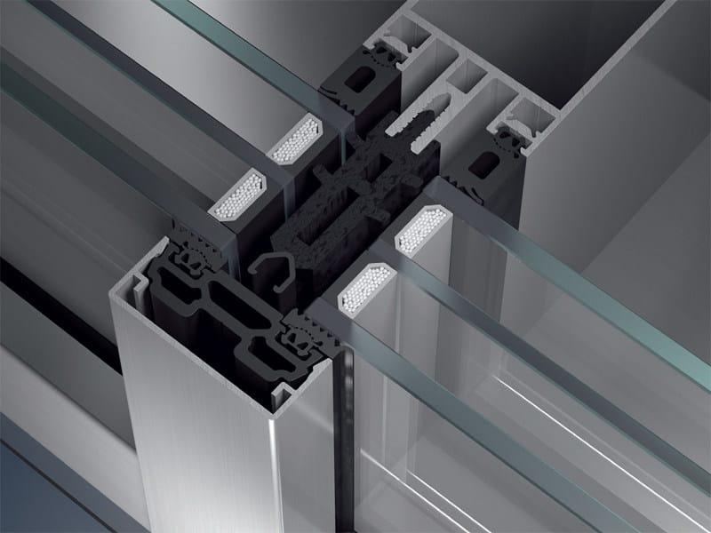 Continuous facade system Schüco FW 50+.SI / FW 60+.SI by Schüco
