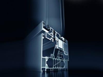 Finestra a taglio termico in alluminio Schüco AWS 105 CC.HI - SCHÜCO INTERNATIONAL ITALIA