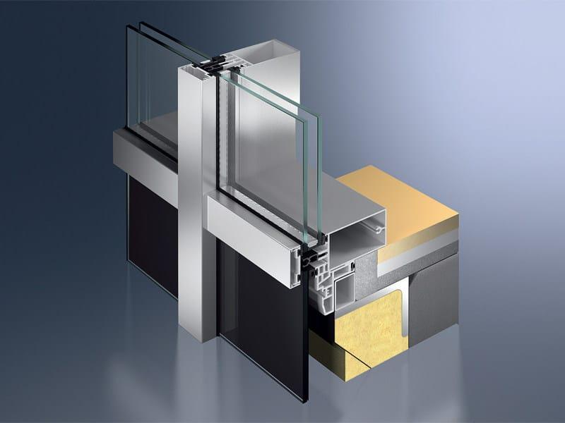 Continuous facade system Schüco FW 50+ / FW 60+ - SCHÜCO INTERNATIONAL ITALIA