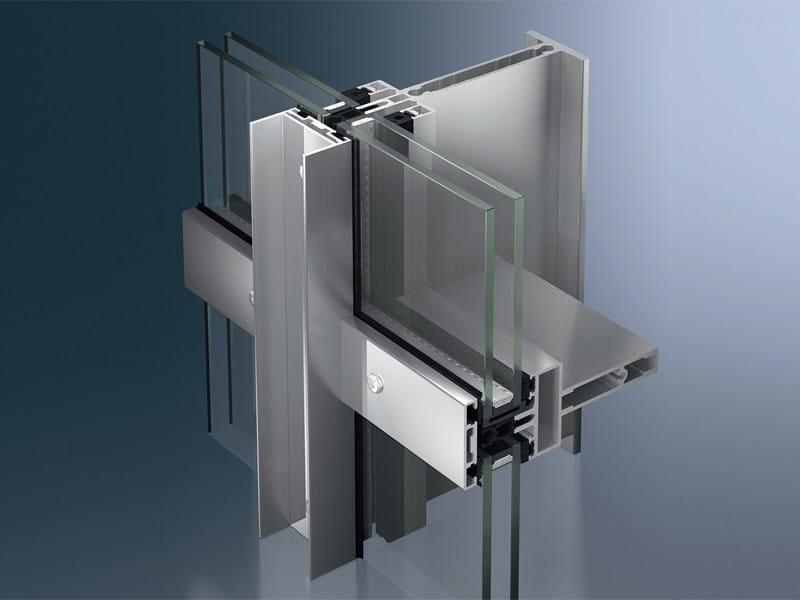 Continuous facade system Schüco FW 50+ S - SCHÜCO INTERNATIONAL ITALIA