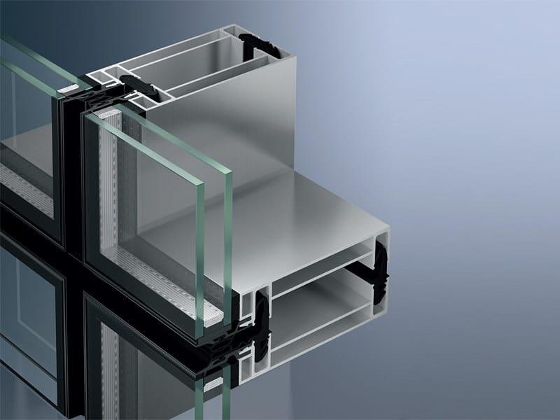 Continuous facade system Schüco UCC 65 SG - SCHÜCO INTERNATIONAL ITALIA