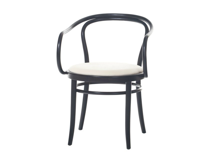 Upholstered open back chair N° 30 | Upholstered chair - TON