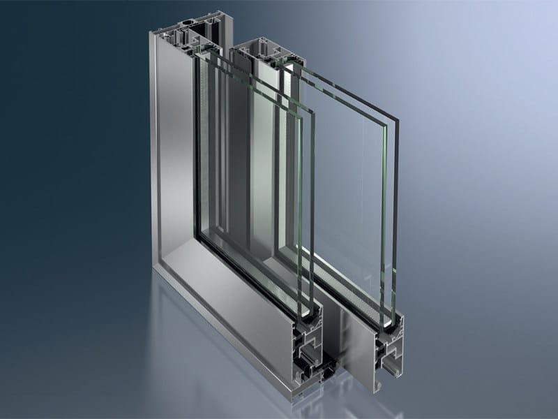 Aluminium lift and slide window Schüco ASS 50 - SCHÜCO INTERNATIONAL ITALIA