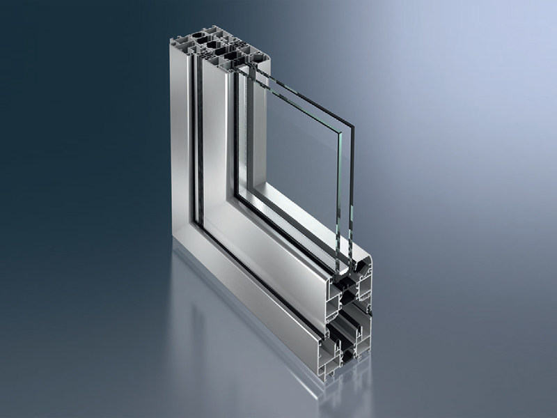 porta finestra a libro a taglio termico in alluminio. Black Bedroom Furniture Sets. Home Design Ideas