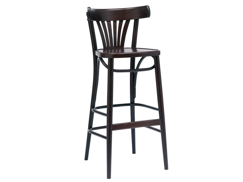 Counter stool with footrest N° 56 | Counter stool - TON