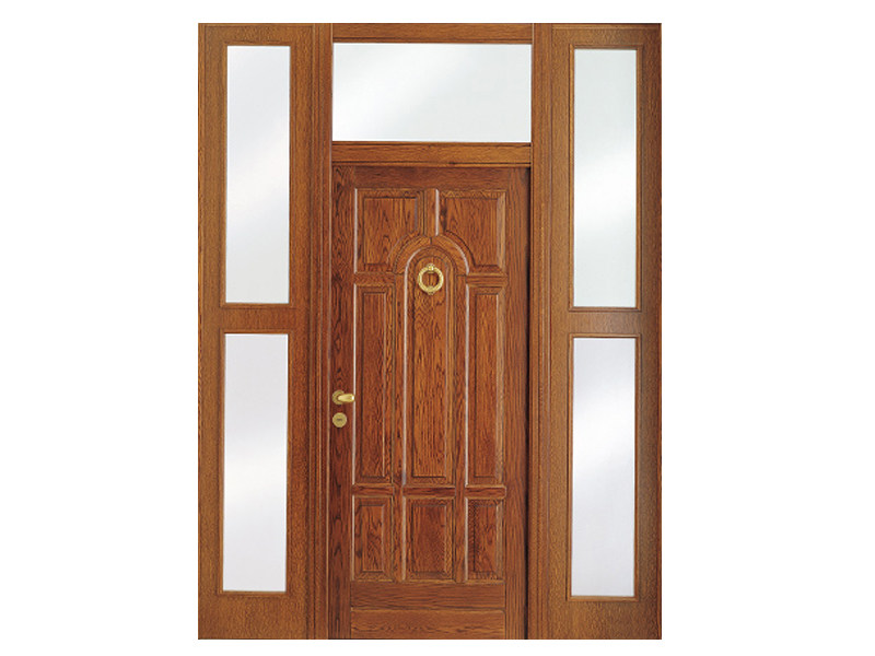 Porta d 39 ingresso blindata con pannelli in vetro main - Porta ingresso blindata ...