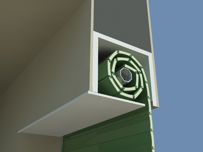 Box for roller shutter MAXI - EDILCASS