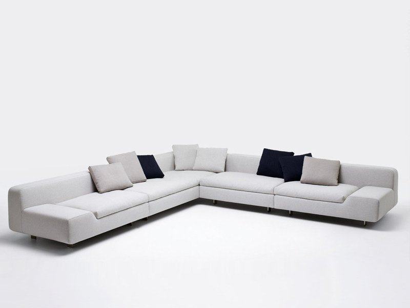 Fabric sofa with removable cover ALLNEW - Paola Lenti
