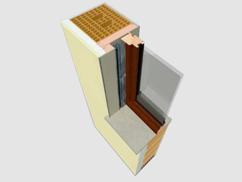 Monoblock window DUAL by EDILCASS