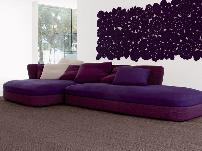 Sectional sofa with removable cover COVE | Sofa - Paola Lenti