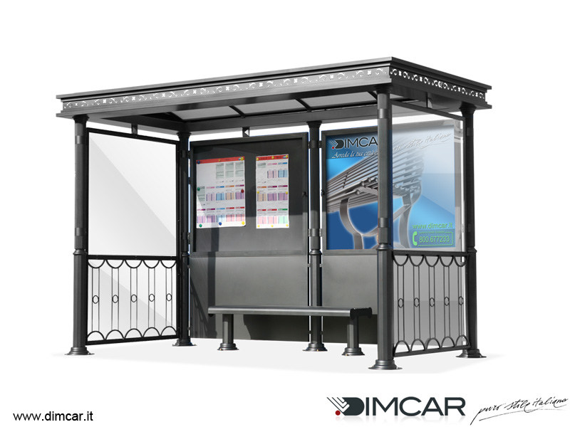 Porch for bus stop Pensilina Liberty by DIMCAR