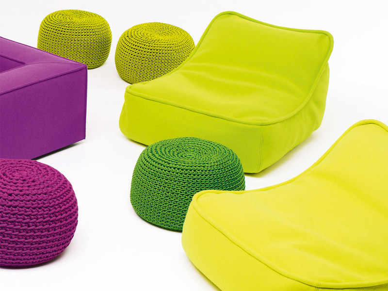 Fabric armchair with removable cover FLOAT MINI - Paola Lenti