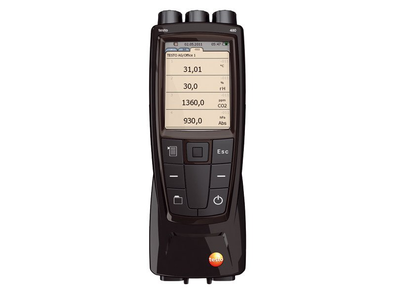 Measurement, control, thermographic and infrared instruments TESTO 480 - TESTO