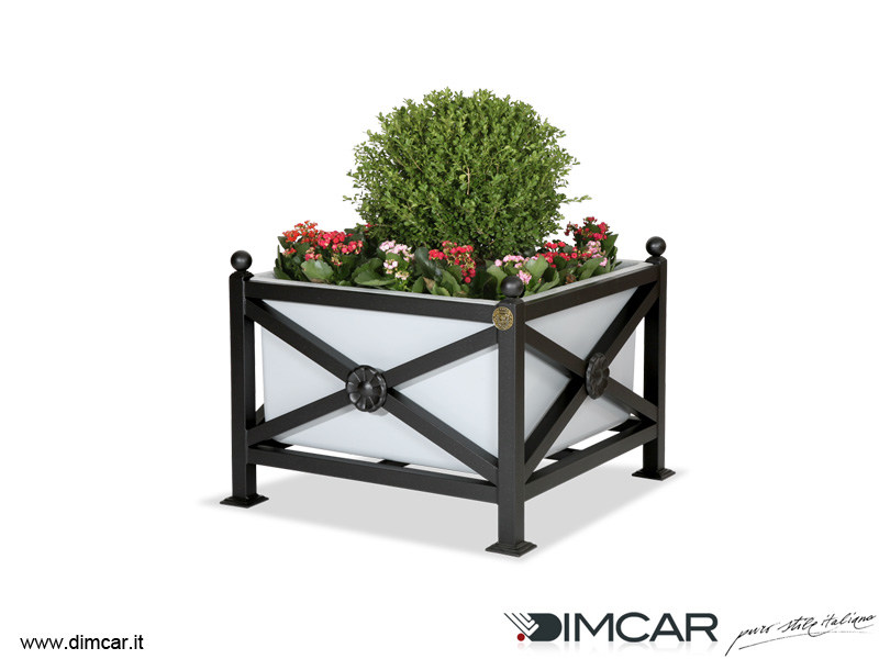 Metal Flower pot Fioriera Orchidea Maxi - DIMCAR